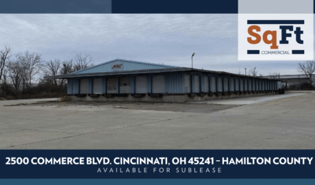 2500 Commerce Blvd, Cincinnati, OH 45241 –  Truck Court Sublease Available