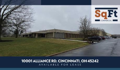 10001 Alliance Rd., Cincinnati, OH 45242 For Lease